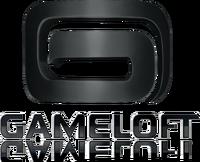 Gameloft Logo (2010; Black Version; Reflective Version)
