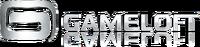 Gameloft Logo (2010; White Version; Reflective Version; Horizontal Version)