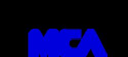 MCA Videocassette Inc. 1980 Print Logo (Blue)