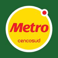 Metro logo 2013 con fondo verde