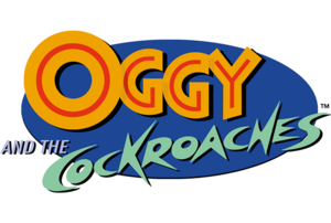 Oggy and the Cockroaches Logo