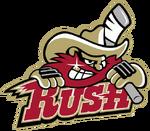 Rapid City Rush logo (alternate introduced 2009)