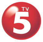 TV5 Logo Since 2010 3D 2013 used for 2017