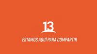 Canal 13, Fondo con eslogan (2018)