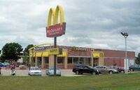 McDonald's building exterior design (1996)