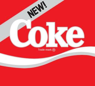 New Coke 1985 logo