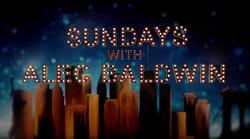 Sunday with Alec Baldwin