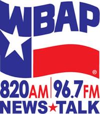 WBAP AM-FM Logo