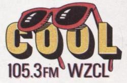 WZCL Cool 105.3 1989