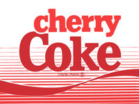 Cherry Coke 1985 logo
