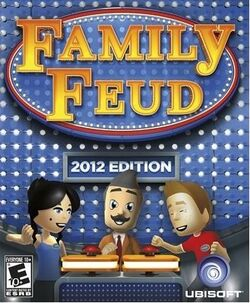 Family Feud 2012 Edition Wii Cover