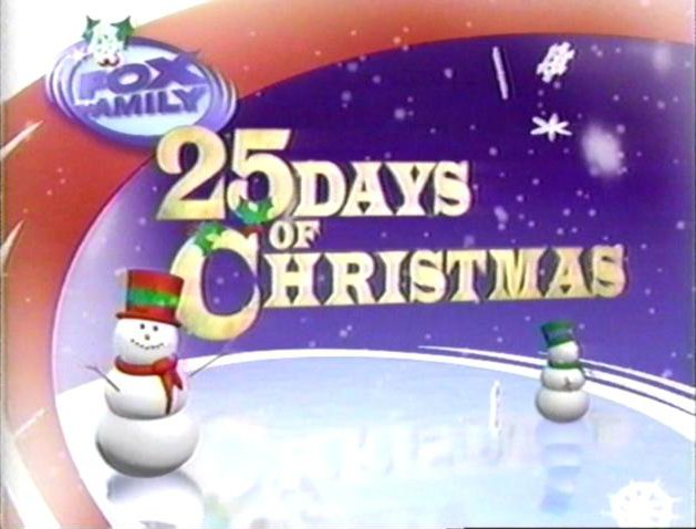 family channel by news corporation now 21st century fox and saban entertainment the family channels 25 days of christmas was renamed fox familys