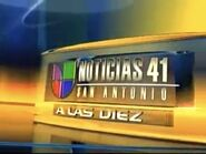 Kwex noticias univision 41 10pm package 2006