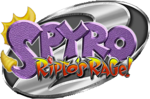 Spyro the dragon 2 ripto s rage logo by heydavid17-d60ewis