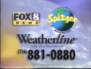 WJW FOX 8 News Spitzer Weatherline