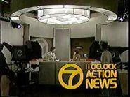 WXYZ 11PM Action News 1980