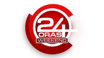 24 Oras Weekend Logo (November 15, 2014-December 4, 2016)