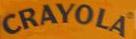 Crayola 1955-1965 crayola