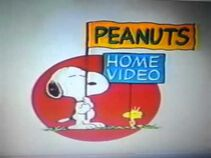 Peanuts home video white