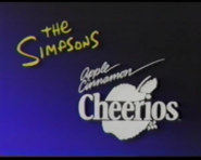 The Simpsons commercial 3 with Apple Cinnamon Cheerios