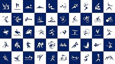 Tokyo 2020 Olympic Sports Pictograms