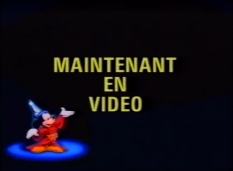 WaltDisneyHomeVideo-MaintenantenVideo