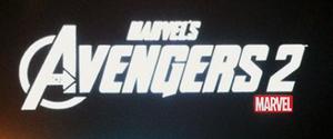 Avengers 2 prerelease logo