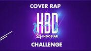 Indosiar 24 tahun cover rap challenge