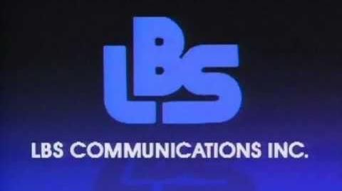 LBS Communications logo (1984)