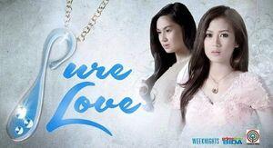 Pure love titlecard