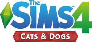 The Sims 4 Cats & Dogs Logo