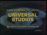 Universal Studios (1970-1971)