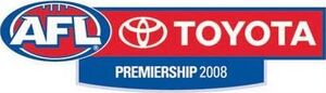AFL Logo 2008 Premiership season