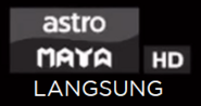Astro MAYA HD On Screen Bugs LANGSUNG