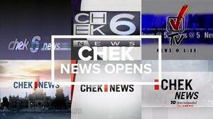 CHEK-DT news opens
