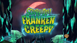 Frankencreepy trailer title card