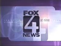 KDFW Fox 4 News 9PM open - 1997