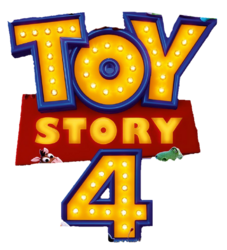 Toy Story 4 promotional logo