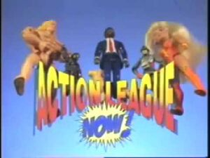 Action League NOW! Pilot Logo