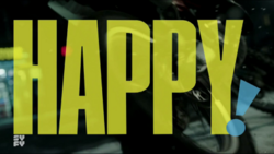 Happy (Syfy) logo