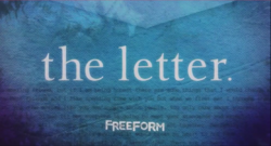 The Letter Freeform