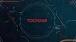 Toonami on-screen Forge T.I.E.-themed logo 2