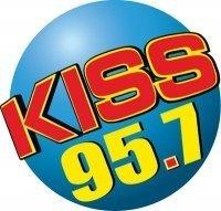 WKSS KISS 95.7 logo