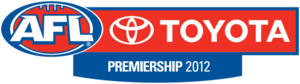 AFL logo 2012 premiership season