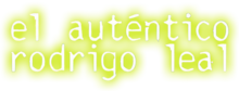 El autentico rodrigo logo