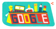Google Doodle 1st September School's Day 2016