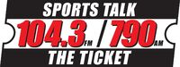 WAXY 790 AM 104.3 FM The Ticket