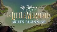 The Little Mermaid Ariel's Beginning Title Card
