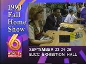 WBRC-TV Channel 6 1994 Fall Home Show promo
