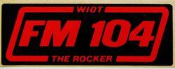 WIOT FM 104 logo